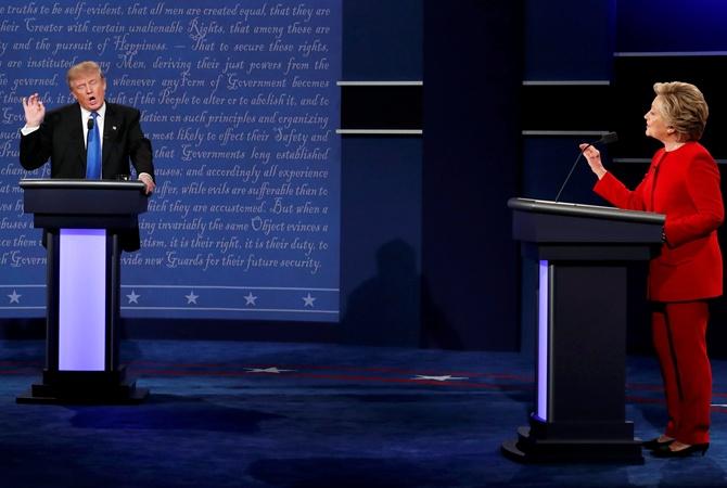 Клинтон считает, что Трамп живет всвоей реальности
