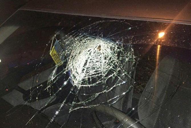 ВЛуцке нетрезвый военком протаранил такси ипробил головой стекло