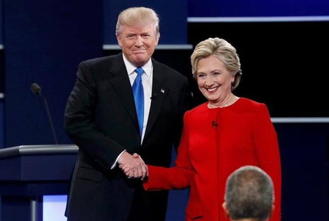 Клинтон одолела впервом раунде дебатов