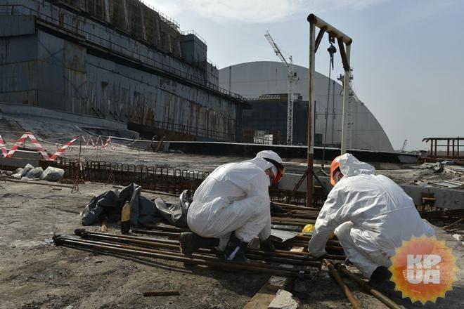 Защитная арка будет надвинута начетвертый блок ЧАЭС 29ноября
