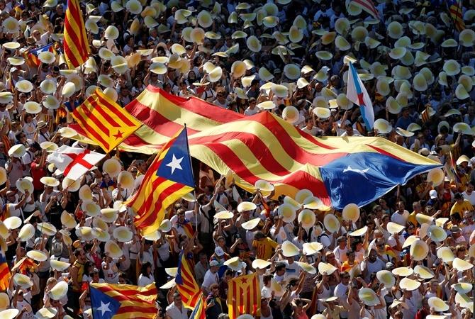 ВКаталонии выразили надежду напроведение в следующем 2017-ом году референдума онезависимости
