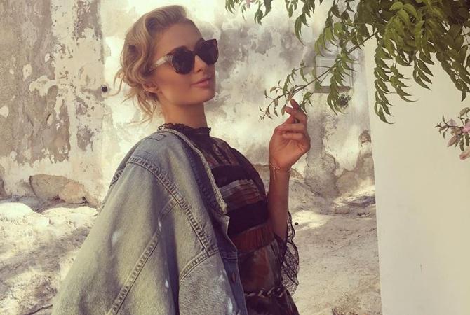 Одессу посетила скандальная штатская звезда Пэрис Хилтон