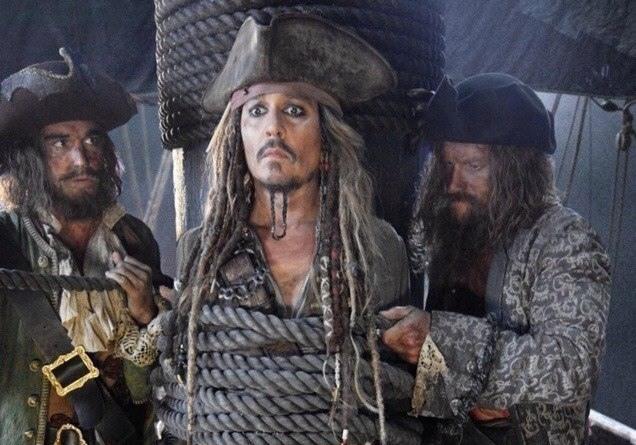 1-ый тизер «Пиратов Карибского моря 5»— Джек Воробей вернулся