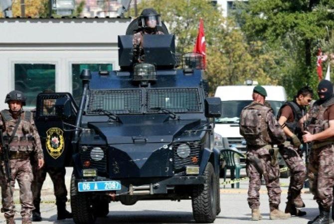 Впригороде Анкары подорвались двое смертников