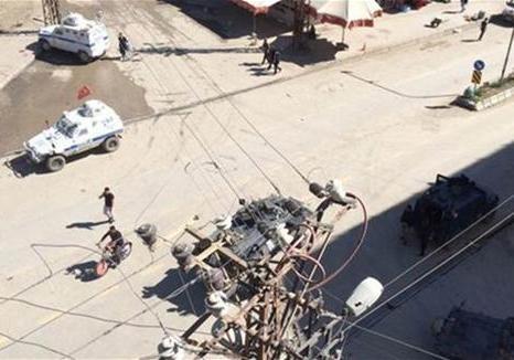 Милиция поошибке обстреляла толпу наюго-востоке Турции