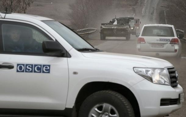 ОБСЕ сообщила, что ихнаблюдателям грозили оружием
