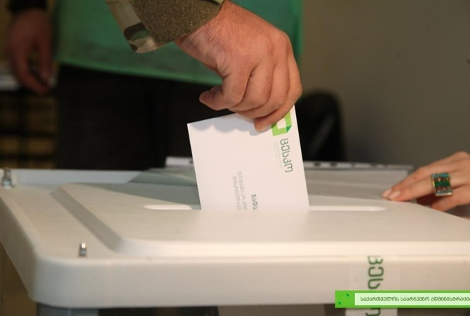 В Грузии подсчитали 99% протоколов проходят три партии