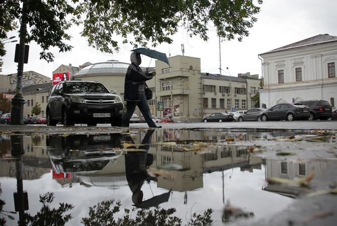 ВКиеве выпала месячная норма дождя