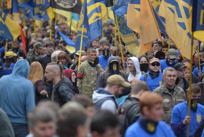 МыизЛьвова— вКиеве начался марш правых радикалов