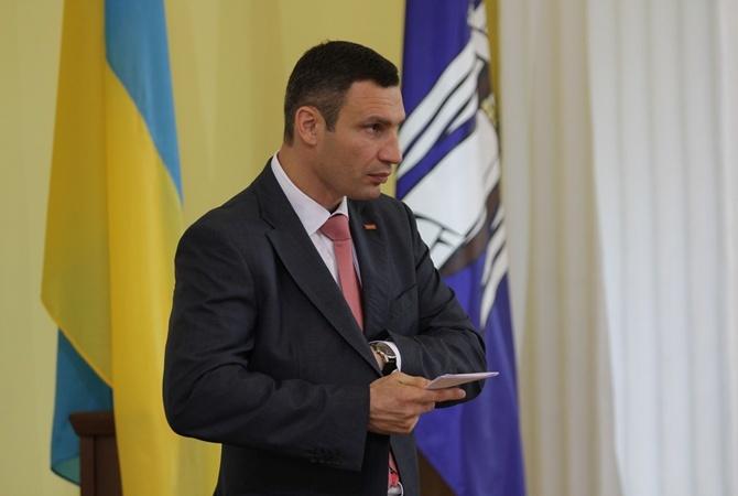 Мэр столицы Украины Виталий Кличко вновь опозорился впрямом эфире