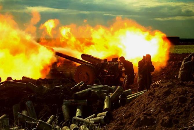 В итоге артобстрела двое украинских военных погибли, местный гражданин ранен— Луганская ОГА