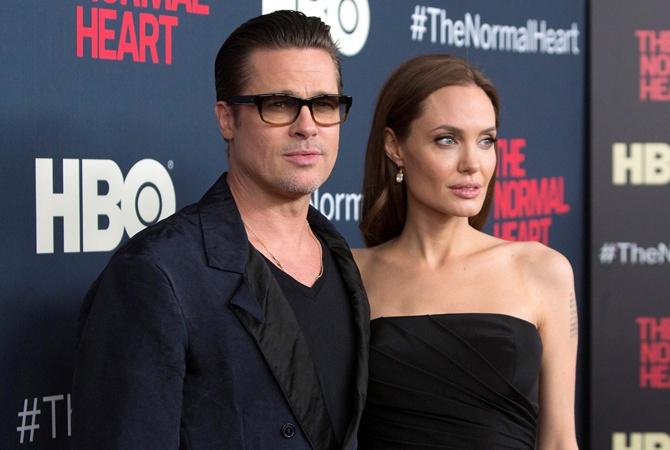 Брэд Питт хотет отсудить детей у Джоли Джоли и Питт судятся за шестерых детей