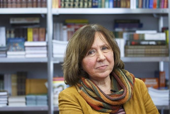 Вслед заНобелевкой Алексиевич может получить еще одну престижную награду