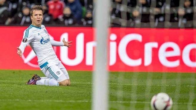 Вматче Лиги Европы «Краснодар» проиграл «Шальке»