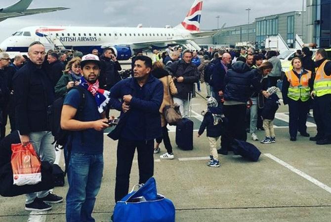 Десятки человек пострадали после хим. инцидента ваэропорту Лондона