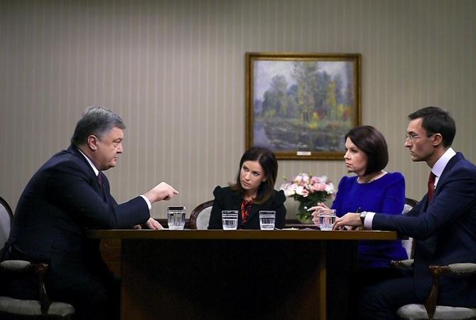 Для мира наДонбассе необходимо наступление либо вражда сРФ— Порошенко