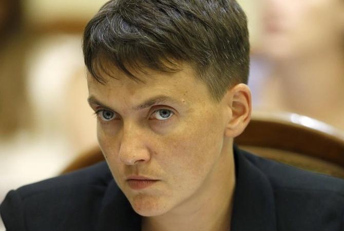 Савченко сравнила Верховную раду сболотом, вкотором нескем драться