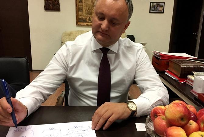 Лидер президентской гонки вМолдове Игорь Додон сделал резонансное объявление поКрыму