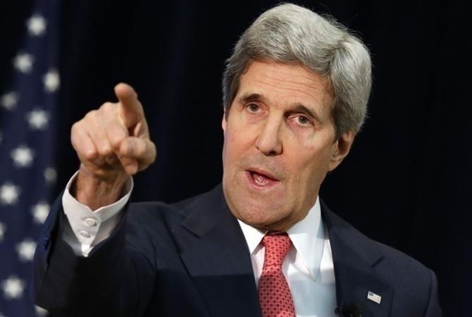 Керри назвал попытки вмешательстваРФ ввыборы вСША первопричиной сохранения санкций