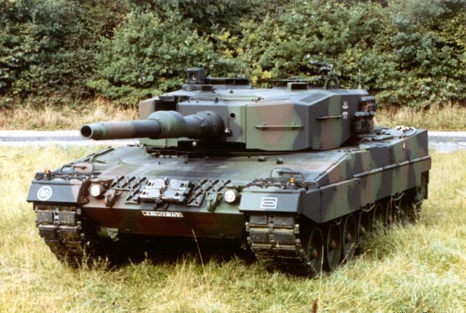 ФРГ направит танки вбатальон НАТО уграницыРФ
