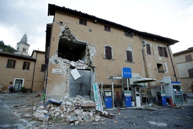 МИД советует украинцам неездить вцентральные регионы Италии