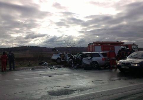 ВДТП вИвано-Франковской области погибли 4 человека