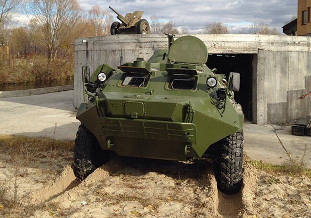 Под Киевом правоохранители обнаружили бункер сБТР, снарядами к«Граду» иПЗРК