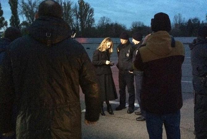 Ольгу Фреймут вЧеркассах оштрафовали заложный вызов патрульных— Опять неприятность