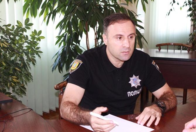 Руководитель милиции Одесской области Лорткипанидзе уходит сдолжности