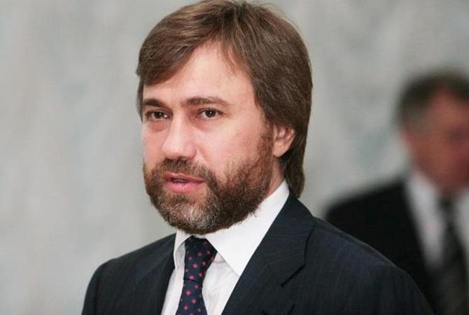 Новинский пообещал завтра вернуться в Украинское государство