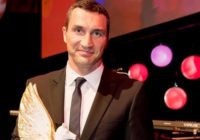 Кличко получил награду «Спортсмен ссердцем»