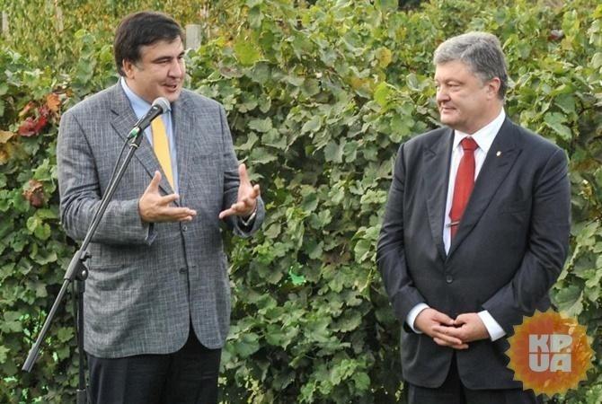 Сделано громкое объявление — Саакашвили «сдал» Порошенко