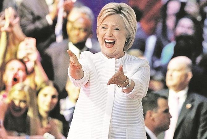 Сколько богачи заработали напрогнозе поКлинтон