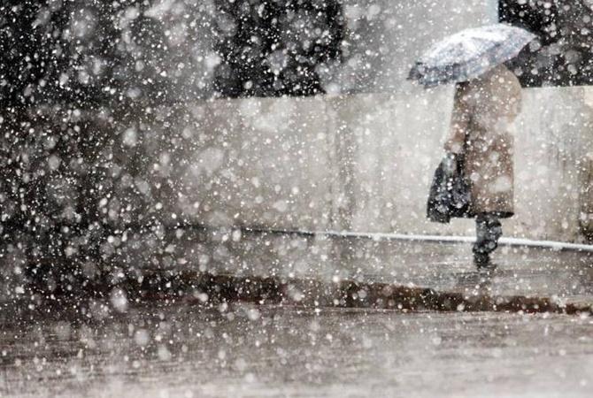 Всреду Украинское государство накроют дожди, назападе смокрым снегом