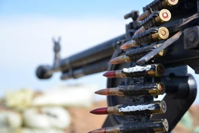 Боевики изстрелкового оружия обстрелялиКП «Марьинка»