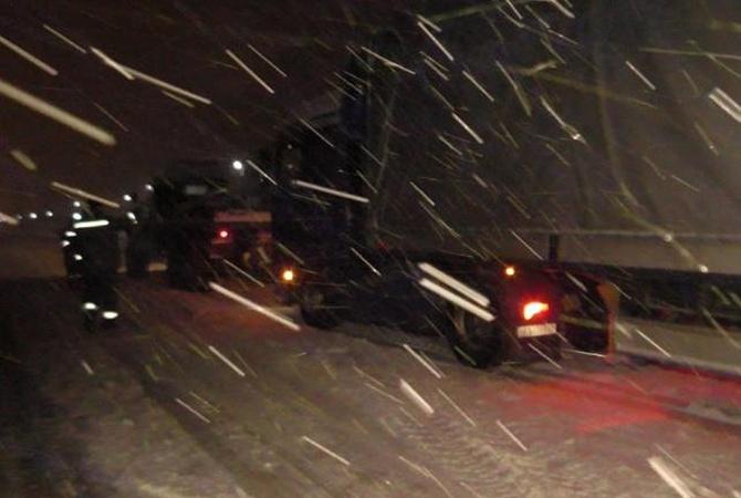 Снегопад вУкраинском государстве обесточил практически 600 населенных пунктов