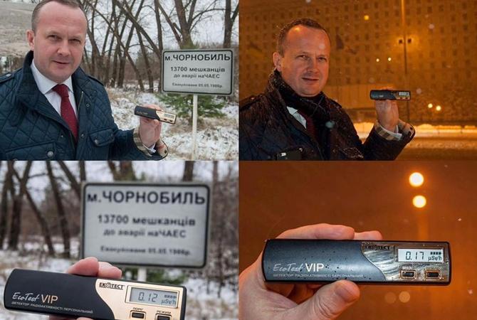 Радиоактивный фон вЧернобыле оказался ниже, чем вцентре столицы Украины,— Семерак