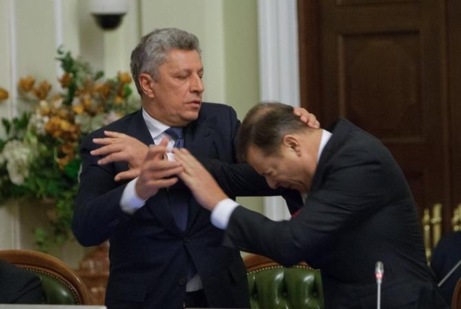 Милиция возбудила дело пофакту потасовки Бойко иЛяшко вВР