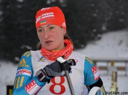 Украинская биатлонистка дисквалифицирована замельдоний