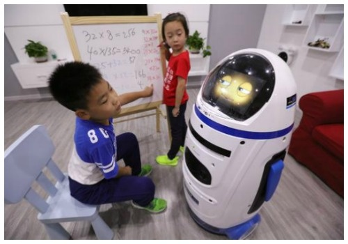 ВКитае робот напал начеловека