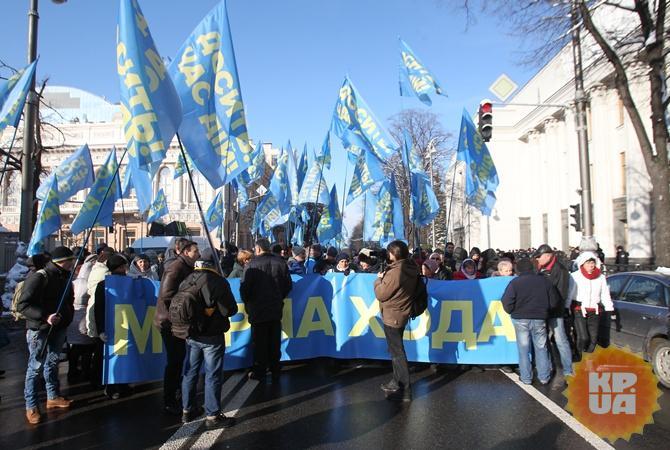 Киев встречает 3-ю годовщину «евромайдана» под угрозой терактов