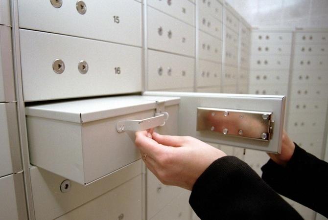 ВКиеве избанковских ячеек вынесли $38 тыс. изолотой слиток