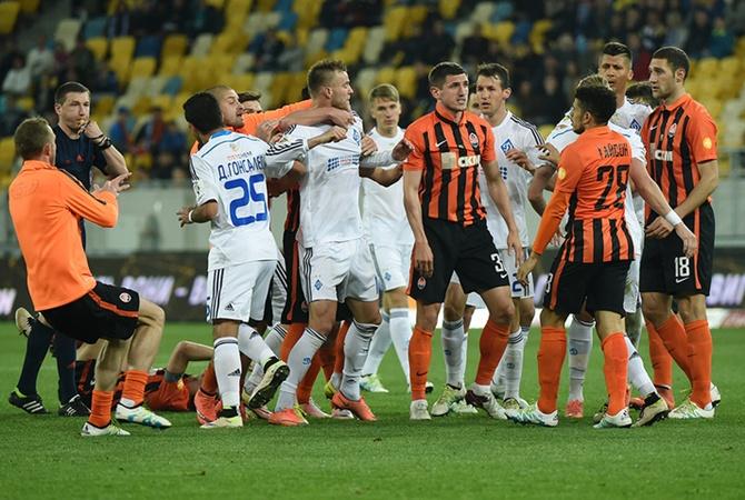 Матч «Динамо»— «Шахтер состоится вначале рабочей недели, 12декабря»
