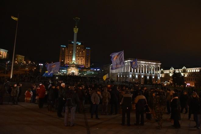 Милиция расследует поджоги ипогромы вцентре столицы Украины
