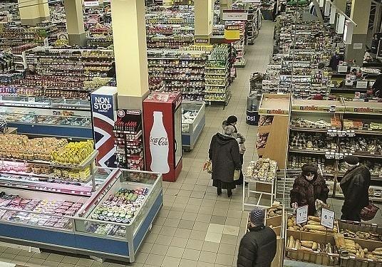 Водесском «Сильпо» охранники безжалостно избили клиента