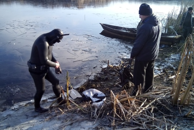 ВЧеркасской области вреке выловили тела пропавших без вести супругов