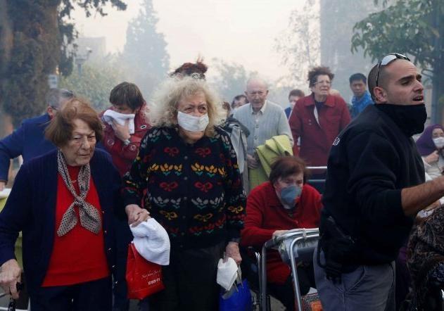 ВИзраиле эвакуированы около 60 тысяч человек из-за пожаров