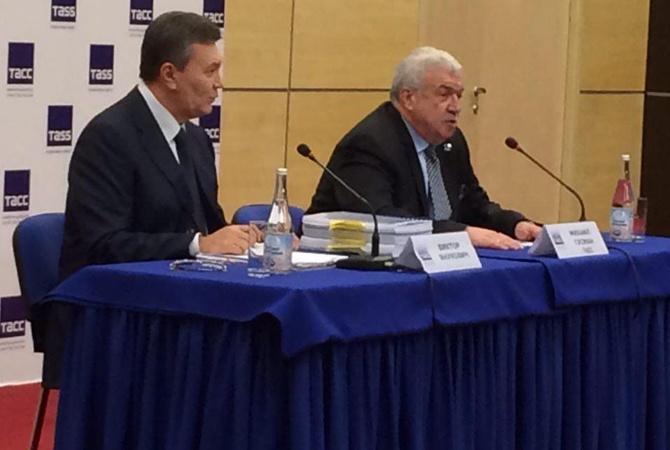 Янукович объявил, что договор оЗСТ сЕС нарушал интересы Украины