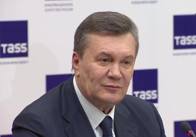 Все мои деньги находятся насчетах вУкраинском государстве — Янукович