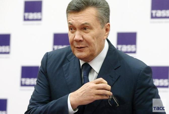 Суд объявил перерыв впроцессе допроса Януковича